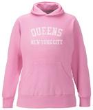 Womens Hoodie: Queens Pullover Hoodie