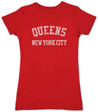 Womens: Queens T-shirts