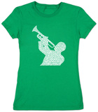 Womens: Great Jazz Songs T-shirts