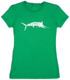Womens: Marlin - Gone Fishing T-Shirts