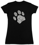 Womans: Dog Paw Shirts
