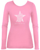 Womens Long Sleeve: Steve Jobs - Here's To The Crazy Ones Womens Long Sleeves