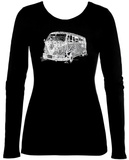 Womens Long Sleeve: The 70's Langärmelige T-Shirts für Damen