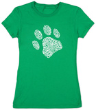 Womens: Dog Paw Shirts