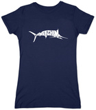 Womens: Marlin - Gone Fishing Shirt