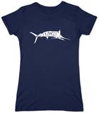 Womens: Marlin - Gone Fishing T-Shirt