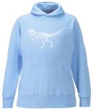 Women's Hoodie: T-Rex - Bones Pullover Hoodie