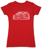 Womans: Mob Car T-shirts