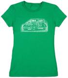 Womens: Mob Car T-shirts