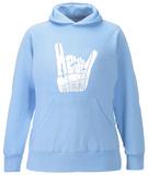Women's Hoodie: Heavy Metal Pullover Hoodie