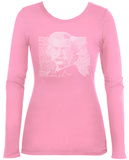 Women's Long Sleeve: Mark Twain Shirt