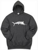 Hoodie: Marlin - Gone Fishing Hættetrøje