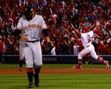 NLCS - San Francisco Giants v St Louis Cardinals - Game Two Foto von Dilip Vishwanat