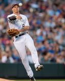 Los Angeles Dodgers v Colorado Rockies Fotografía por Dustin Bradford