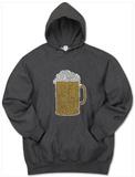 Hoodie: Beer Pullover Hoodie