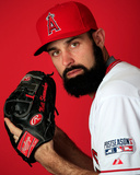 Los Angeles Angels of Anaheim Photo Day Photo by Jamie Squire