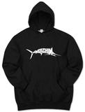 Hoodie: Marlin - Gone Fishing Pullover Hoodie