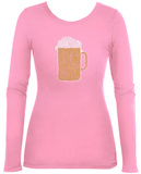 Womens Long Sleeve: Beer Womens Long Sleeves