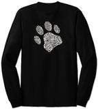 Long Sleeve: Dog Paw T-Shirts