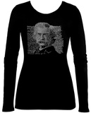 Womens Long Sleeve: Mark Twain Womens Long Sleeves