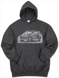 Hoodie: Mob Car Pullover Hoodie
