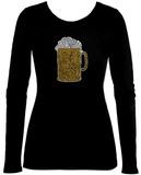 Women's Long Sleeve: Beer T-skjorter
