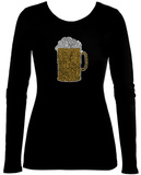 Women's Long Sleeve: Beer T-Shirt