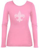 Womens Long Sleeve: Boy Scout Oath Womens Long Sleeves