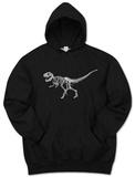Hoodie: T-Rex - Bones Pullover Hoodie