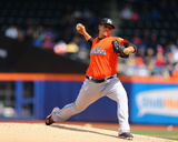 Miami Marlins v New York Mets Photo by Al Bello