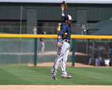 Milwaukee Brewers v Oakland Athletics Photo by Norm Hall