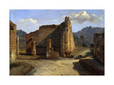 The Forum of Pompeii', C1816-1822 Giclee Print by Achille Etna Michallon