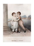 Brother and Sister, Late 18th-Early 19th Century Giclee Print by Adam Buck