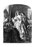 The Bride, 1856 Giclee Print by Abraham Solomon