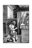 Der Bussende, 1510 Reproduction procédé giclée par Albrecht Durer