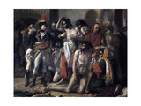 Napoleon Bonaparte Visiting the Plague Stricken of Jaffa, 11th March 1799, 1804 Giclee Print by Antoine-Jean Gros