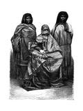 Malagasy Women, 19th Century Giclee Print by Alexandre Bida