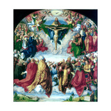 The Adoration of the Trinity (The Landauer Altarpiece), 1511 Giclee Print by Albrecht Durer