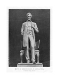 Statue of Abraham Lincoln, Lincoln Park, Chicago, 1887 Giclee Print by Augustus Saint-gaudens