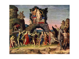 The Parnassus: Mars and Venus, 1497 Giclee Print by Andrea Mantegna