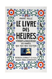 Frontpage of Le Livre Des Heures, 1919 Giclee Print by Andre Helle