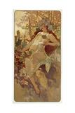 Autumn, 1896 Giclee Print by Alphonse Mucha