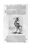 Mythical Creatures, 1678 Giclee Print by Athanasius Kircher