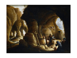 The Temptation of St Anthony, C1649-1670 Giclee Print by Abraham Teniers