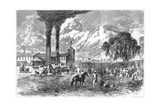 Sugar Plantation, New Orleans, 1870 Giclee Print by AR Ward