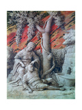 Samson and Delilah, C1500 Giclee Print by Andrea Mantegna