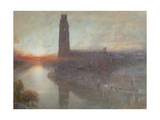 Boston, 1907 Giclee Print by Albert Goodwin