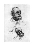 Victor Hugo, C1860-1910 Giclee Print by Auguste Rodin