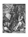Melancolia, 1514 Reproduction procédé giclée par Albrecht Durer