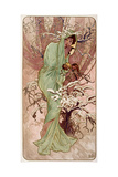 Winter, 1896 Giclee Print by Alphonse Mucha